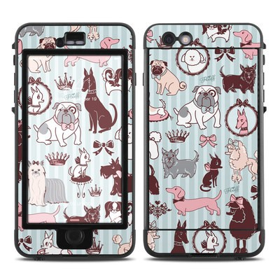 Lifeproof iPhone 6 Plus Nuud Case Skin - Doggy Boudoir