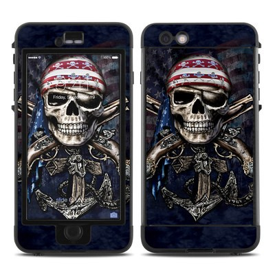 Lifeproof iPhone 6 Plus Nuud Case Skin - Dead Anchor