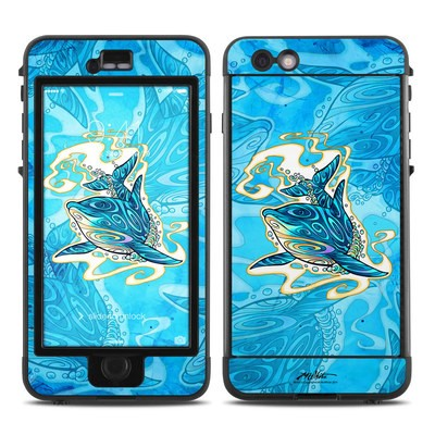 Lifeproof iPhone 6 Plus Nuud Case Skin - Dolphin Daydream