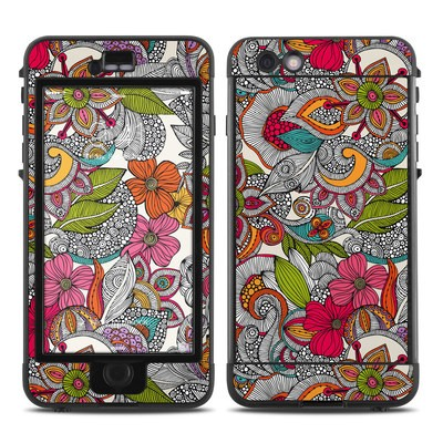 Lifeproof iPhone 6 Plus Nuud Case Skin - Doodles Color