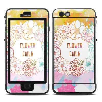 Lifeproof iPhone 6 Plus Nuud Case Skin - Flower Child