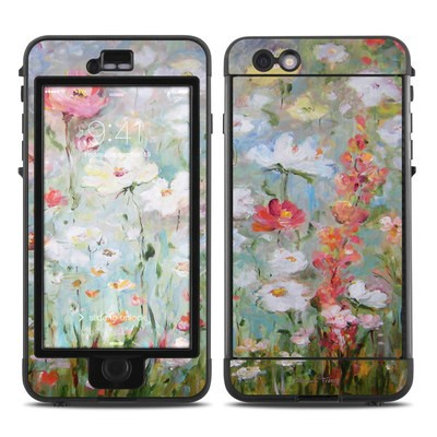 Lifeproof iPhone 6 Plus Nuud Case Skin - Flower Blooms