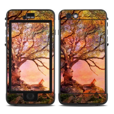 Lifeproof iPhone 6 Plus Nuud Case Skin - Fox Sunset