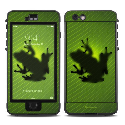 Lifeproof iPhone 6 Plus Nuud Case Skin - Frog