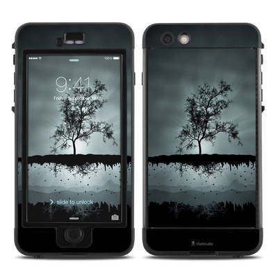 Lifeproof iPhone 6 Plus Nuud Case Skin - Flying Tree Black
