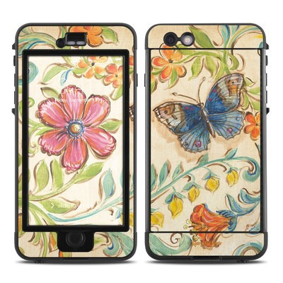 Lifeproof iPhone 6 Plus Nuud Case Skin - Garden Scroll