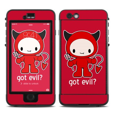 Lifeproof iPhone 6 Plus Nuud Case Skin - Got Evil