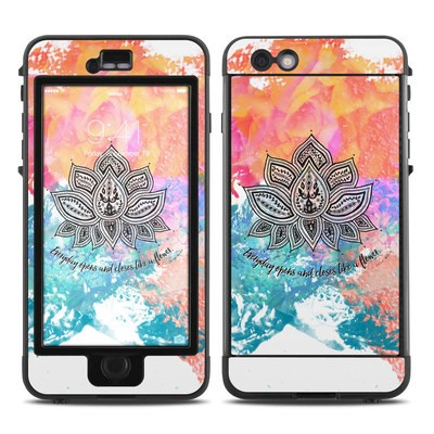 Lifeproof iPhone 6 Plus Nuud Case Skin - Happy Lotus