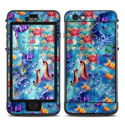 Lifeproof iPhone 6 Plus Nuud Case Skin - Harlequin Seascape