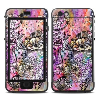 Lifeproof iPhone 6 Plus Nuud Case Skin - Hot House Flowers