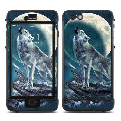 Lifeproof iPhone 6 Plus Nuud Case Skin - Howling Moon Soloist