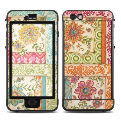 Lifeproof iPhone 6 Plus Nuud Case Skin - Ikat Floral
