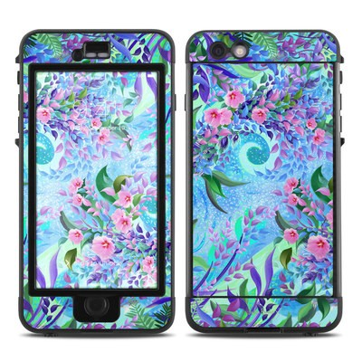 Lifeproof iPhone 6 Plus Nuud Case Skin - Lavender Flowers