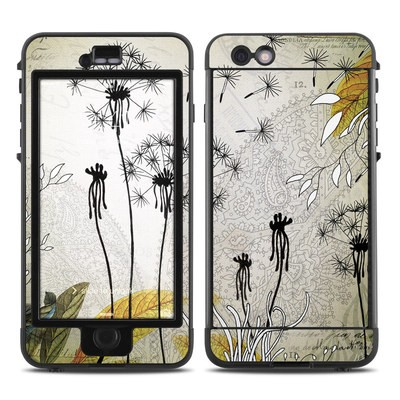 Lifeproof iPhone 6 Plus Nuud Case Skin - Little Dandelion