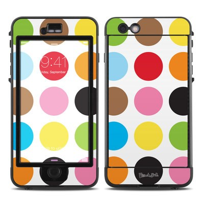 Lifeproof iPhone 6 Plus Nuud Case Skin - Multidot