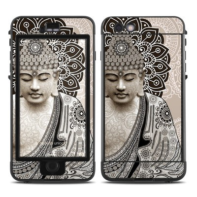 Lifeproof iPhone 6 Plus Nuud Case Skin - Meditation Mehndi