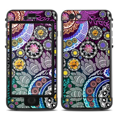 Lifeproof iPhone 6 Plus Nuud Case Skin - Mehndi Garden