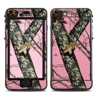 Lifeproof iPhone 6 Plus Nuud Case Skin - Break-Up Pink