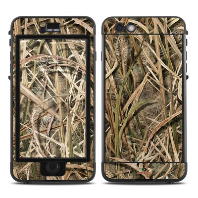 Lifeproof iPhone 6 Plus Nuud Case Skin - Shadow Grass Blades