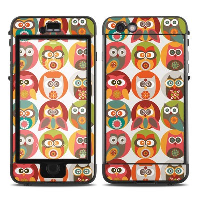 Lifeproof iPhone 6 Plus Nuud Case Skin - Owls Family