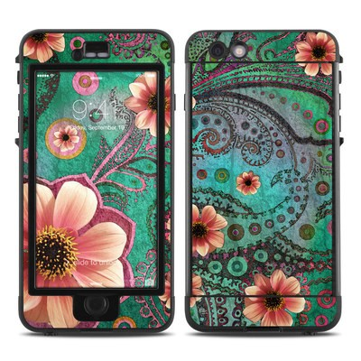 Lifeproof iPhone 6 Plus Nuud Case Skin - Paisley Paradise