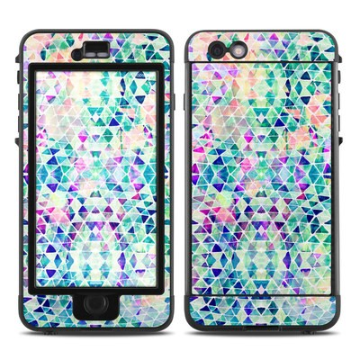 Lifeproof iPhone 6 Plus Nuud Case Skin - Pastel Triangle