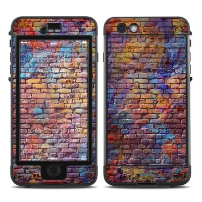 Lifeproof iPhone 6 Plus Nuud Case Skin - Painted Brick