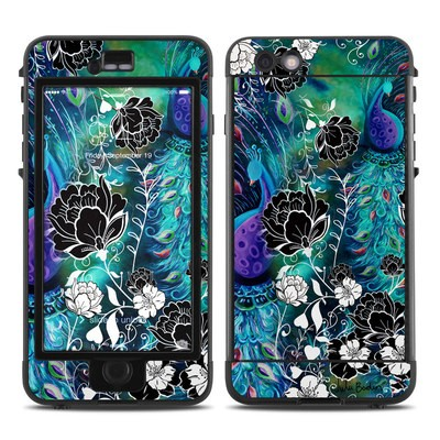 Lifeproof iPhone 6 Plus Nuud Case Skin - Peacock Garden