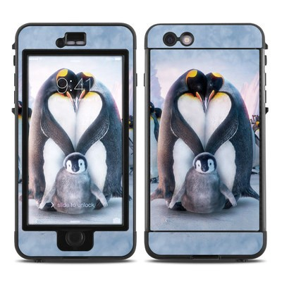 Lifeproof iPhone 6 Plus Nuud Case Skin - Penguin Heart