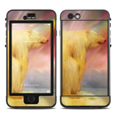 Lifeproof iPhone 6 Plus Nuud Case Skin - Polar Bear