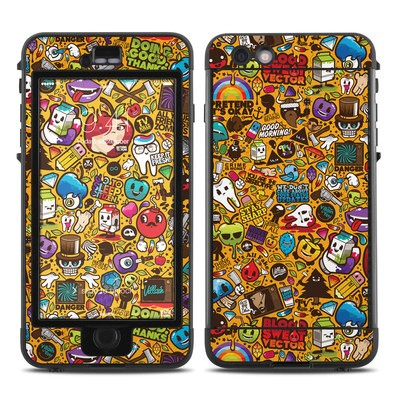 Lifeproof iPhone 6 Plus Nuud Case Skin - Psychedelic