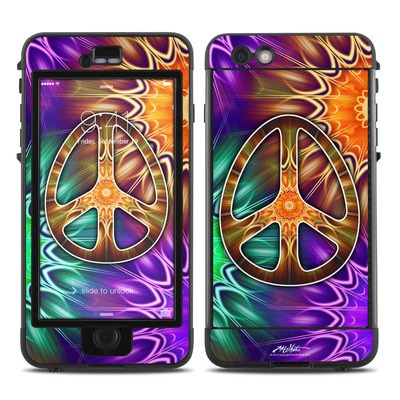 Lifeproof iPhone 6 Plus Nuud Case Skin - Peace Triptik