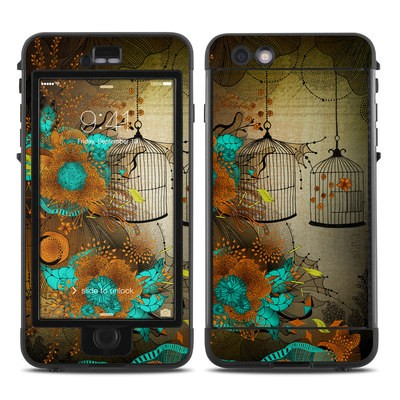 Lifeproof iPhone 6 Plus Nuud Case Skin - Rusty Lace