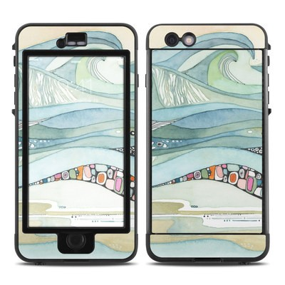 Lifeproof iPhone 6 Plus Nuud Case Skin - Sea of Love