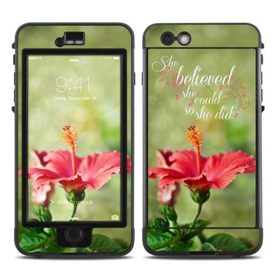 Lifeproof iPhone 6 Plus Nuud Case Skin - She Believed