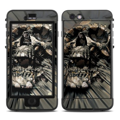 Lifeproof iPhone 6 Plus Nuud Case Skin - Skull Wrap