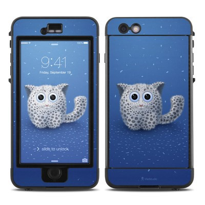 Lifeproof iPhone 6 Plus Nuud Case Skin - Snow Leopard
