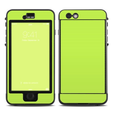 Lifeproof iPhone 6 Plus Nuud Case Skin - Solid State Lime