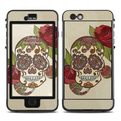 Lifeproof iPhone 6 Plus Nuud Case Skin - Sugar Skull