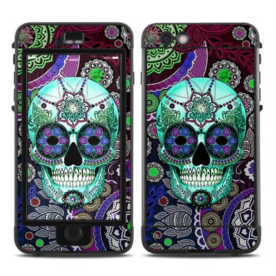 Lifeproof iPhone 6 Plus Nuud Case Skin - Sugar Skull Sombrero