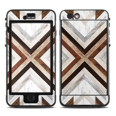 Lifeproof iPhone 6 Plus Nuud Case Skin - Timber