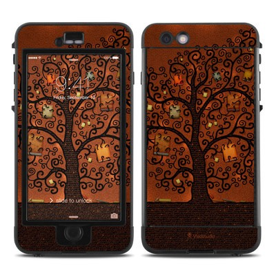 Lifeproof iPhone 6 Plus Nuud Case Skin - Tree Of Books