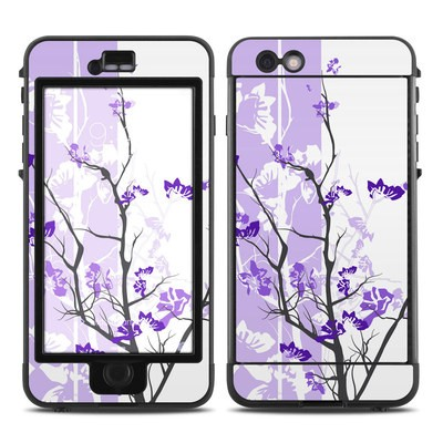 Lifeproof iPhone 6 Plus Nuud Case Skin - Violet Tranquility