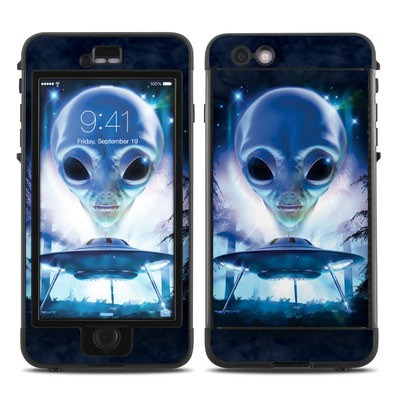 Lifeproof iPhone 6 Plus Nuud Case Skin - UFO