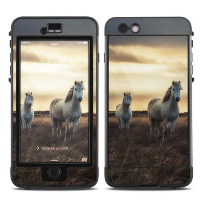 Lifeproof iPhone 6 Plus Nuud Case Skin - Hornless Unicorns