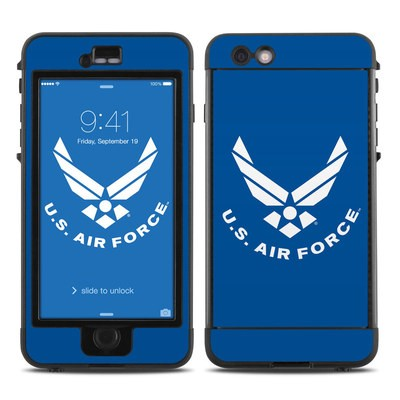 Lifeproof iPhone 6 Plus Nuud Case Skin - USAF Blue