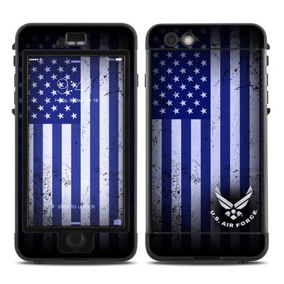 Lifeproof iPhone 6 Plus Nuud Case Skin - USAF Flag