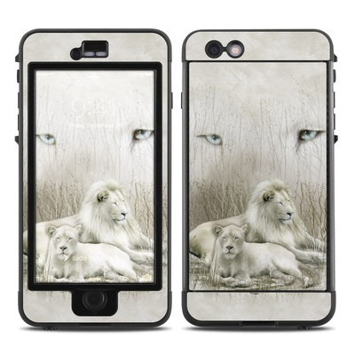 Lifeproof iPhone 6 Plus Nuud Case Skin - White Lion