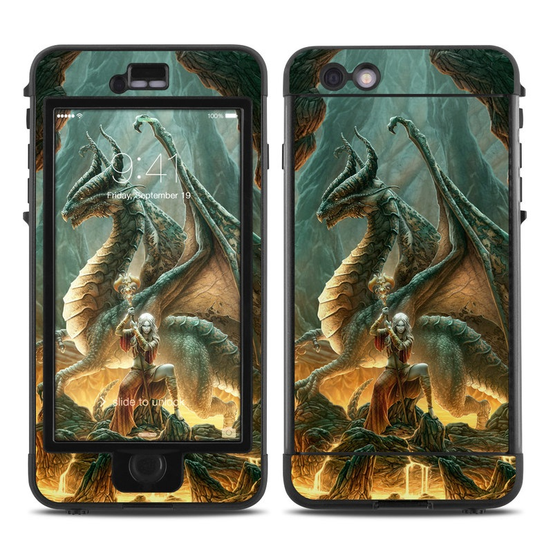 reputable site 989ad 6d2bc Lifeproof iPhone 6 Plus Nuud Case Skin - Dragon Mage