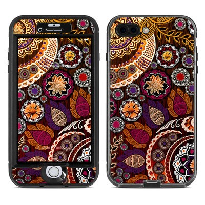 Lifeproof iPhone 7 Plus Nuud Case Skin - Autumn Mehndi